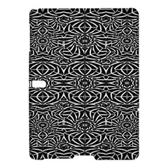 Black and White Tribal Pattern Samsung Galaxy Tab S (10.5 ) Hardshell Case