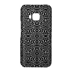 Black and White Tribal Pattern HTC One M9 Hardshell Case