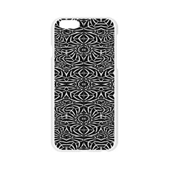 Black and White Tribal Pattern Apple Seamless iPhone 6/6S Case (Transparent)