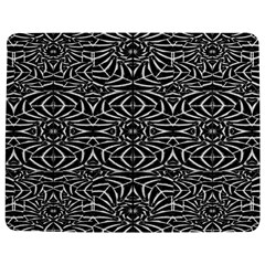 Black and White Tribal Pattern Jigsaw Puzzle Photo Stand (Rectangular)