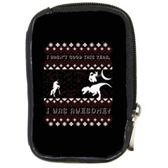 I Wasn t Good This Year, I Was Awesome! Ugly Holiday Christmas Black Background Compact Camera Cases
