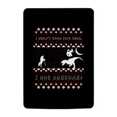 I Wasn t Good This Year, I Was Awesome! Ugly Holiday Christmas Black Background Kindle 4