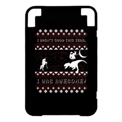 I Wasn t Good This Year, I Was Awesome! Ugly Holiday Christmas Black Background Kindle 3 Keyboard 3G