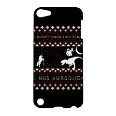 I Wasn t Good This Year, I Was Awesome! Ugly Holiday Christmas Black Background Apple iPod Touch 5 Hardshell Case