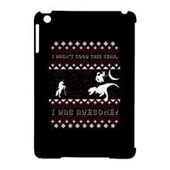I Wasn t Good This Year, I Was Awesome! Ugly Holiday Christmas Black Background Apple Ipad Mini Hardshell Case (compatible With Smart Cover)