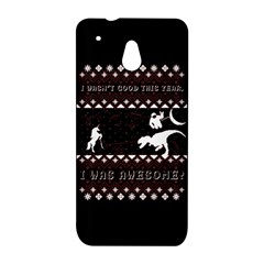 I Wasn t Good This Year, I Was Awesome! Ugly Holiday Christmas Black Background HTC One Mini (601e) M4 Hardshell Case
