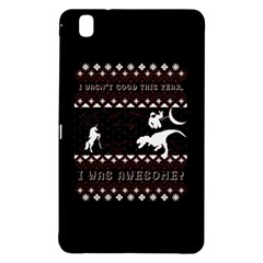 I Wasn t Good This Year, I Was Awesome! Ugly Holiday Christmas Black Background Samsung Galaxy Tab Pro 8.4 Hardshell Case