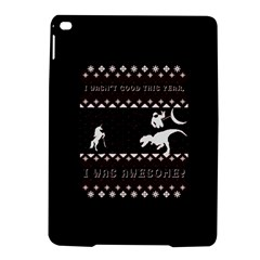 I Wasn t Good This Year, I Was Awesome! Ugly Holiday Christmas Black Background Ipad Air 2 Hardshell Cases