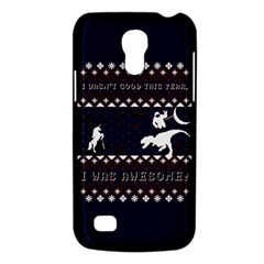 I Wasn t Good This Year, I Was Awesome! Ugly Holiday Christmas Blue Background Galaxy S4 Mini