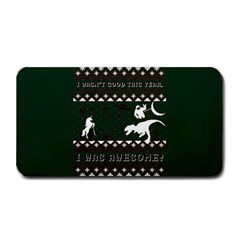 I Wasn t Good This Year, I Was Awesome! Ugly Holiday Christmas Green Background Medium Bar Mats