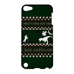 I Wasn t Good This Year, I Was Awesome! Ugly Holiday Christmas Green Background Apple Ipod Touch 5 Hardshell Case