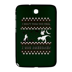 I Wasn t Good This Year, I Was Awesome! Ugly Holiday Christmas Green Background Samsung Galaxy Note 8 0 N5100 Hardshell Case