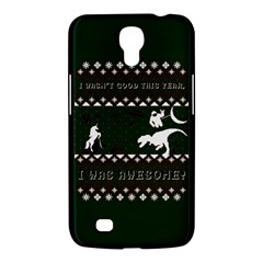 I Wasn t Good This Year, I Was Awesome! Ugly Holiday Christmas Green Background Samsung Galaxy Mega 6.3  I9200 Hardshell Case