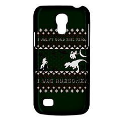 I Wasn t Good This Year, I Was Awesome! Ugly Holiday Christmas Green Background Galaxy S4 Mini