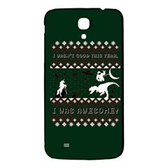 I Wasn t Good This Year, I Was Awesome! Ugly Holiday Christmas Green Background Samsung Galaxy Mega I9200 Hardshell Back Case