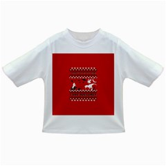 I Wasn t Good This Year, I Was Awesome! Ugly Holiday Christmas Red Background Infant/Toddler T-Shirts