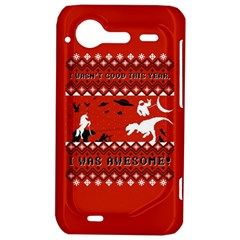 I Wasn t Good This Year, I Was Awesome! Ugly Holiday Christmas Red Background HTC Incredible S Hardshell Case