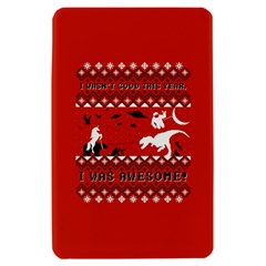 I Wasn t Good This Year, I Was Awesome! Ugly Holiday Christmas Red Background Kindle Fire (1st Gen) Hardshell Case