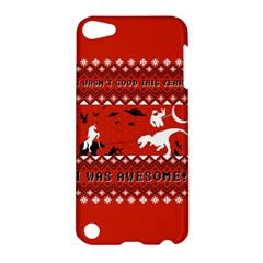 I Wasn t Good This Year, I Was Awesome! Ugly Holiday Christmas Red Background Apple iPod Touch 5 Hardshell Case