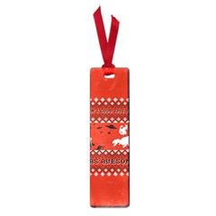I Wasn t Good This Year, I Was Awesome! Ugly Holiday Christmas Red Background Small Book Marks