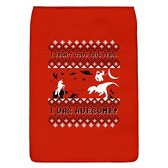 I Wasn t Good This Year, I Was Awesome! Ugly Holiday Christmas Red Background Flap Covers (L)