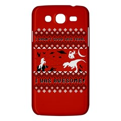 I Wasn t Good This Year, I Was Awesome! Ugly Holiday Christmas Red Background Samsung Galaxy Mega 5 8 I9152 Hardshell Case