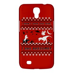I Wasn t Good This Year, I Was Awesome! Ugly Holiday Christmas Red Background Samsung Galaxy Mega 6.3  I9200 Hardshell Case