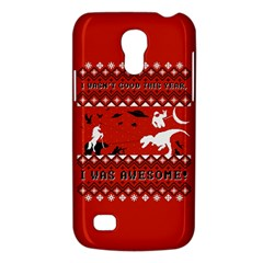 I Wasn t Good This Year, I Was Awesome! Ugly Holiday Christmas Red Background Galaxy S4 Mini