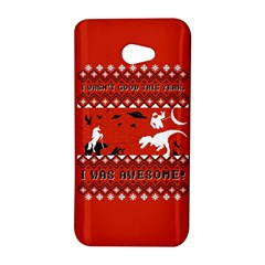 I Wasn t Good This Year, I Was Awesome! Ugly Holiday Christmas Red Background HTC Butterfly S/HTC 9060 Hardshell Case