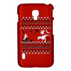 I Wasn t Good This Year, I Was Awesome! Ugly Holiday Christmas Red Background LG Optimus L7 II