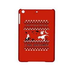 I Wasn t Good This Year, I Was Awesome! Ugly Holiday Christmas Red Background iPad Mini 2 Hardshell Cases