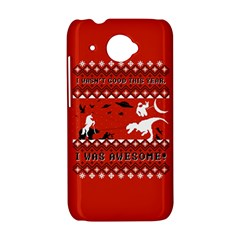 I Wasn t Good This Year, I Was Awesome! Ugly Holiday Christmas Red Background HTC Desire 601 Hardshell Case