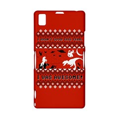 I Wasn t Good This Year, I Was Awesome! Ugly Holiday Christmas Red Background Sony Xperia Z1