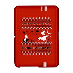 I Wasn t Good This Year, I Was Awesome! Ugly Holiday Christmas Red Background Amazon Kindle Fire (2012) Hardshell Case