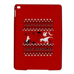 I Wasn t Good This Year, I Was Awesome! Ugly Holiday Christmas Red Background iPad Air 2 Hardshell Cases