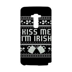 Kiss Me I m Irish Ugly Christmas Black Background LG G Flex