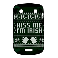 Kiss Me I m Irish Ugly Christmas Green Background Bold Touch 9900 9930