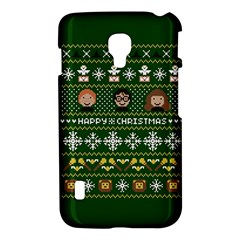 Merry Nerdmas! Ugly Christma Green Background LG Optimus L7 II