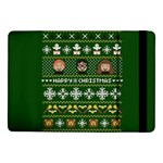 Merry Nerdmas! Ugly Christma Green Background Samsung Galaxy Tab Pro 10.1  Flip Case Front