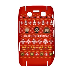 Merry Nerdmas! Ugly Christma Red Background Bold 9700