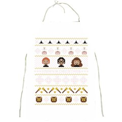 Merry Nerdmas! Ugly Christmas Full Print Aprons