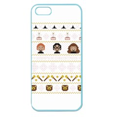 Merry Nerdmas! Ugly Christmas Apple Seamless iPhone 5 Case (Color)
