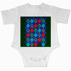 Minecraft Ugly Holiday Christmas Green Background Infant Creepers