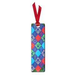 Minecraft Ugly Holiday Christmas Green Background Small Book Marks