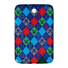 Minecraft Ugly Holiday Christmas Green Background Samsung Galaxy Note 8.0 N5100 Hardshell Case