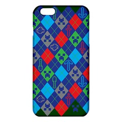 Minecraft Ugly Holiday Christmas Green Background Iphone 6 Plus/6s Plus Tpu Case