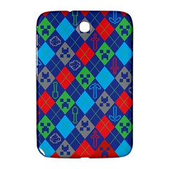 Minecraft Ugly Holiday Christmas Red Background Samsung Galaxy Note 8 0 N5100 Hardshell Case