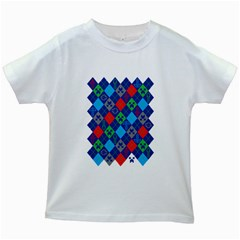 Minecraft Ugly Holiday Christmas Kids White T Shirts