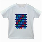 Minecraft Ugly Holiday Christmas Kids White T-Shirts Front