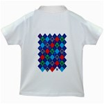 Minecraft Ugly Holiday Christmas Kids White T-Shirts Back